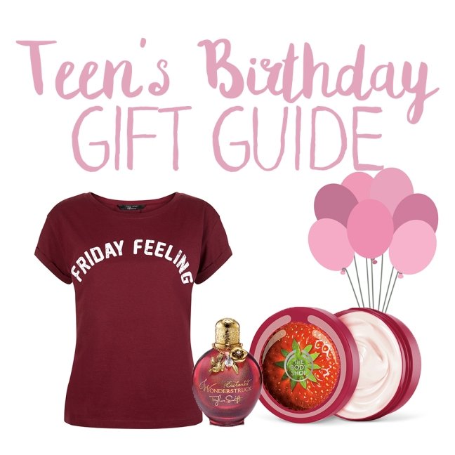 Teens Birthday Gift Guide